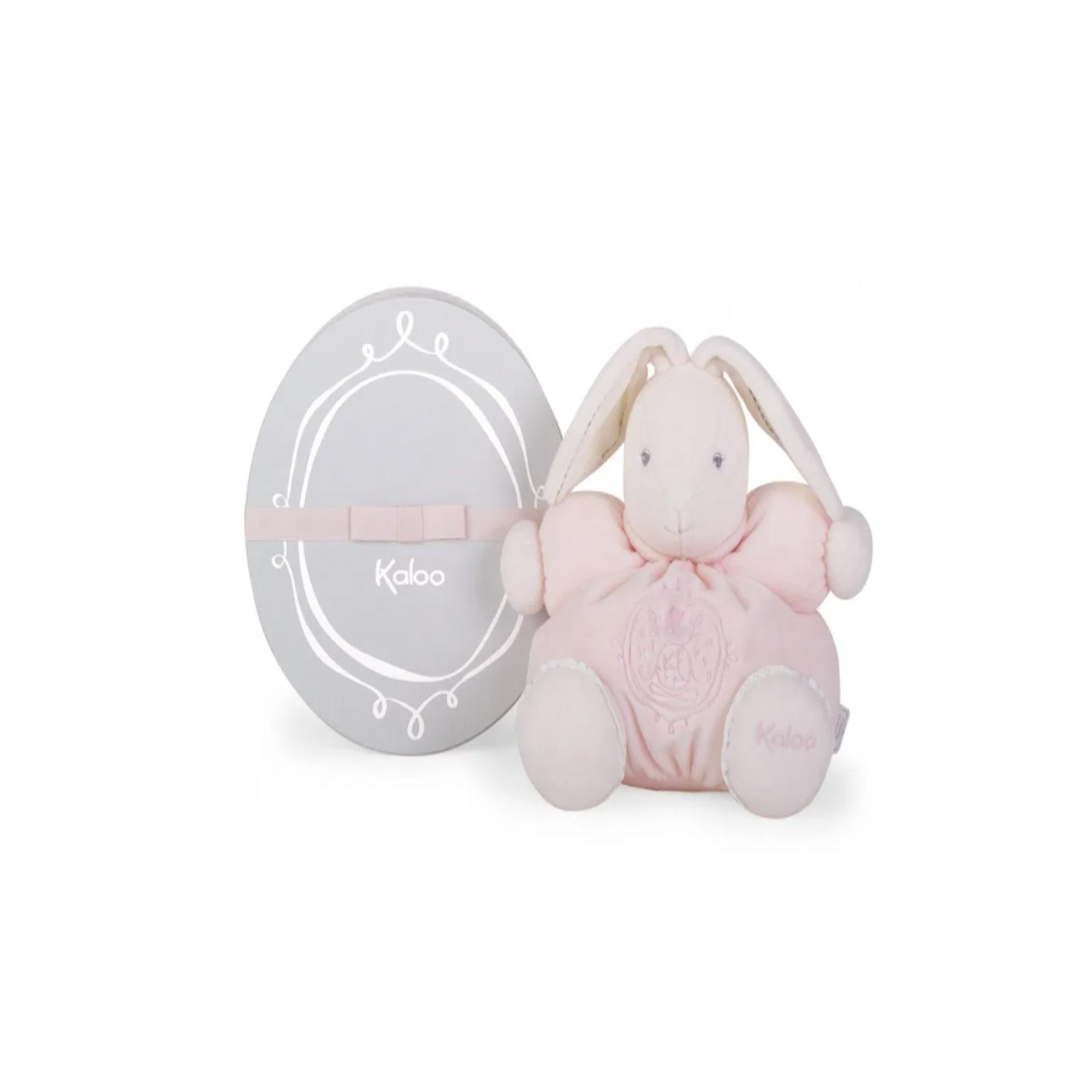 Kaloo Perle Chubby Rabbit Pink Medium
