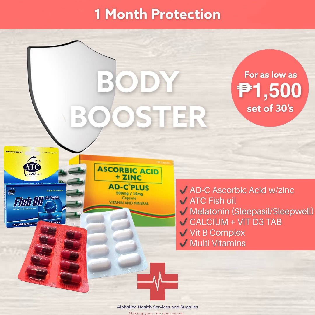 Body Booster 30 Day Bundle